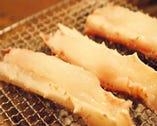 焼いたタラバ蟹。
