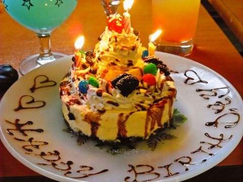 可愛い自家製ケーキで素敵なサプライズを♪
