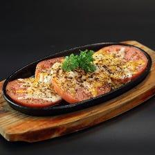 イタリアーナトマトチーズ鉄板