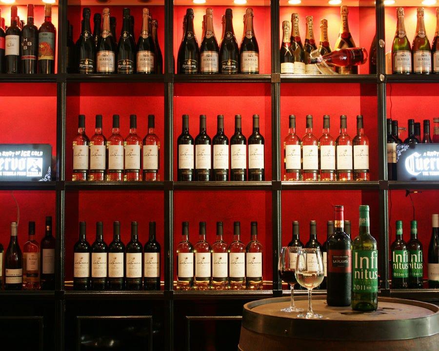 自慢のワインセレクション