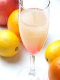 信州の白桃&シャンパン