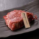赤身だからこそ味わえる肉本来の美味さは必食「和牛ヒレ(シャトーブリアン)」