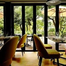 日比谷公園内に佇むレストラン