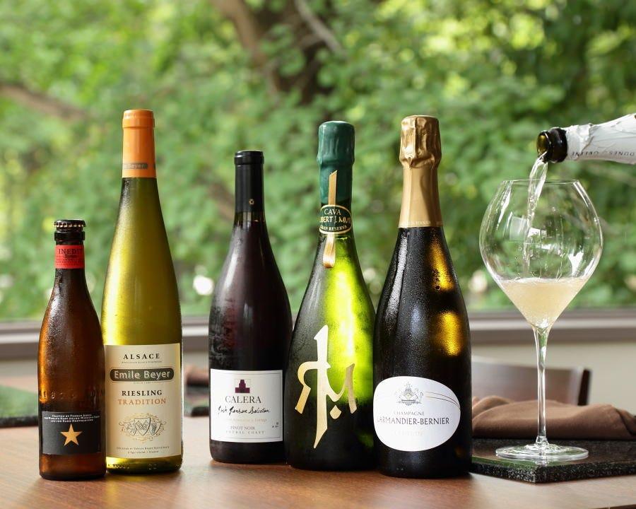 多彩なワインと日本酒