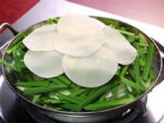 ○ 水炊き風もつ鍋(もつ鍋・もつばら鍋)