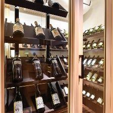【コスパ重視から本格ワインまで幅広くご用意しております!】