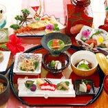 彩りも豊かなコース料理 3,200円(税抜)~全4種