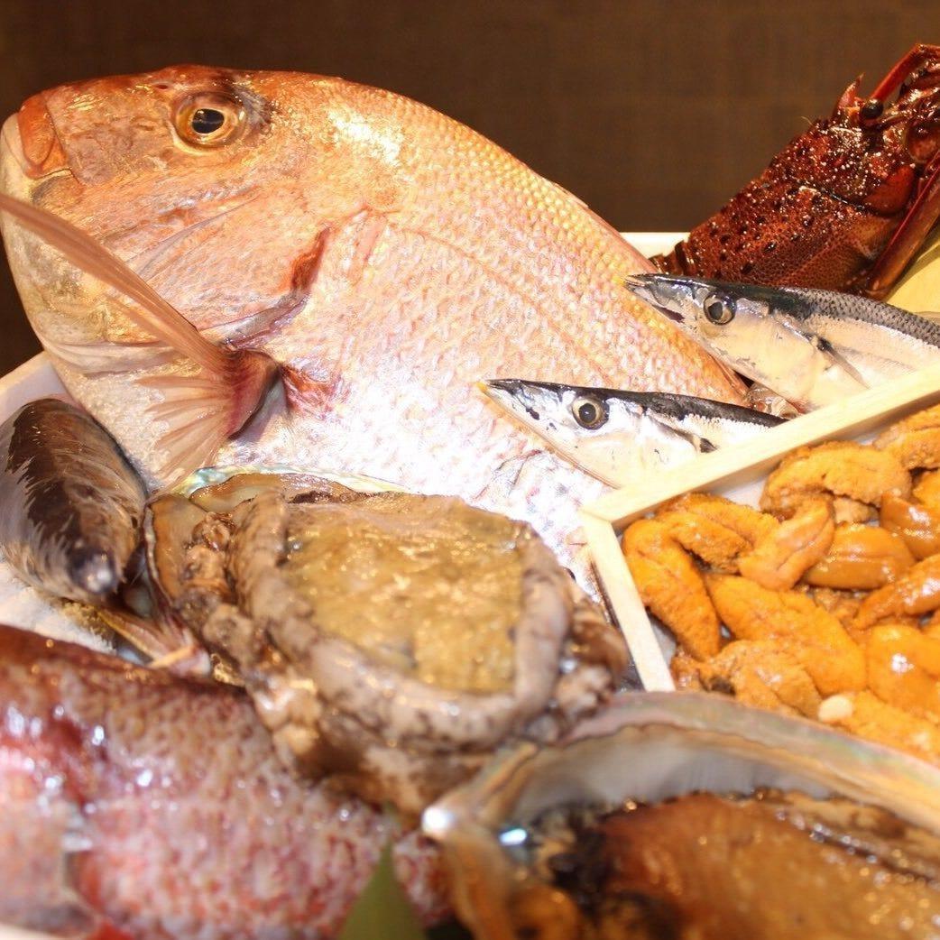 ◆新鮮食材を使った至高の料理を堪能