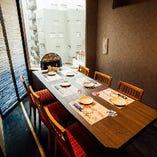 【テーブル半個室】人数に合わせて自由自在!プライベート宴会スペース