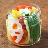 彩り野菜のスティックピクルス
