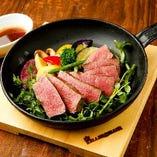 国産牛赤身ステーキ