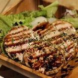 国産鶏の自家製鶏ハム ~バルサミコ酢~