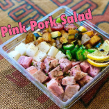 Pink Pork Salad