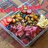 Red Beef Salad