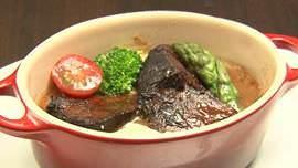 豚タンのバルサミコ煮込み