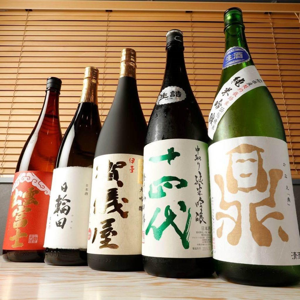 全国のレア銘柄を揃えた日本酒