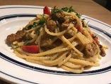 Riccio Amore!!たっぷりウニのペペロンチーノスパゲティ