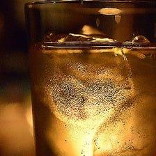 純氷と薄口グラスで飲むハイボール