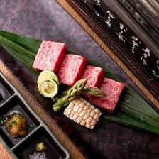【特別ディナーコース】接待や誕生日・記念日など大切な日に…佐賀牛A5ステーキや季節の味わい全9品を堪能
