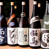 """なかなか市場に出回らない""""通好み""""の日本酒も種類豊富に取揃え"""