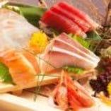 新鮮なお刺身を是非ご賞味ください!!地酒との相性も抜群です。