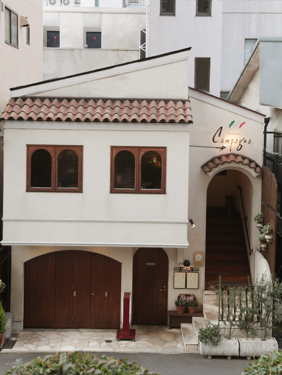 イタリアの雰囲気ただよう、一軒家のトラットリア