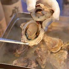 ★名物!広島産牡蠣のがんがん焼き★