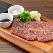和牛ミスジの石焼ステーキ