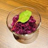 紫キャベツのラペ