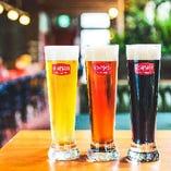 ここでしか飲むことの出来ないオリジナルドイツビール!