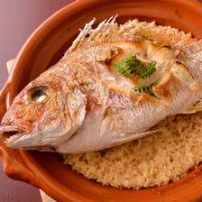 「たい家」だからこその本物の鯛料理