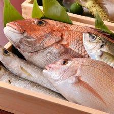 こだわりの鯛と天然食材を職人の技で