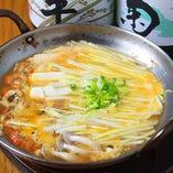 岡山名物 黄にらを使った黄ニラと穴子の卵とじ。