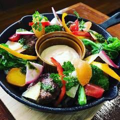 炭焼きハンバーグ&お野菜 グラッチェ