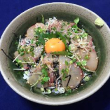 香川のハマチ丼