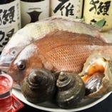 新鮮な鮮魚を毎日仕入れ!