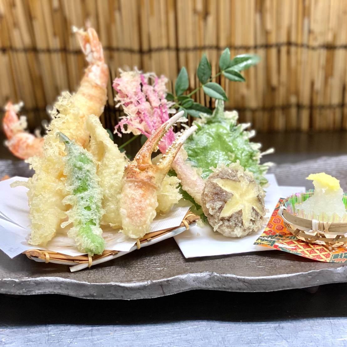 【紫陽花~あじさい~】みやもとおまかせコース 7品5,500円(税込)