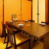 [座敷テーブル個室] 食事会や接待など2名様より。着席も楽々