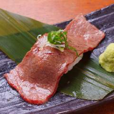 黒毛和牛 ザブトン炙り握り寿司