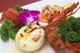 オマール海老の二色炒め