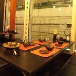 【個室】眺望も良くイルミネーションも見える個室もございます!