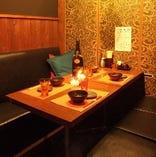 【4名席】テーブル半個室ボックス