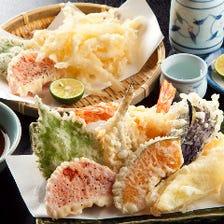◆季節を感じる旬の食材の絶品天ぷら