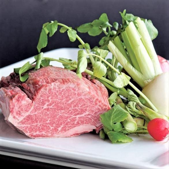 当店の名物といえば国産牛ステーキ