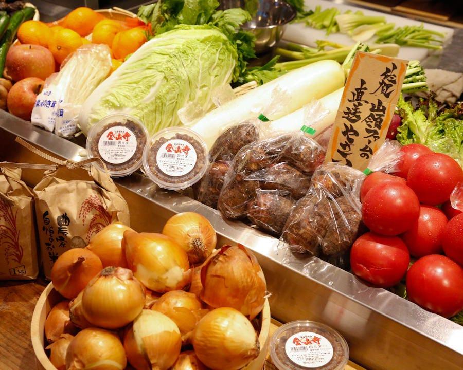 佐賀道の駅そよかぜ館の新鮮野菜