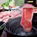 「牛&豚」両方楽しめる♪しゃぶしゃぶ食べ放題も大人気!ファミリーでも気軽にご利用ください。