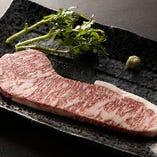 静岡のブランド牛の「伊豆牛のステーキ」。数量限定ですのでお早めに