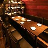 使い勝手の良いテーブル席はお席の調整も可能。ご利用人数に合わせてお席をご用意いたします!