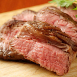 アンガス牛のステーキ
