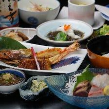 夏の味覚を和食会席で堪能